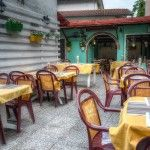 Giardinetto ristorante pizzeria L'Anfora Cattolica